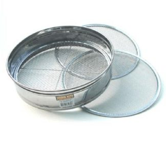 Joshua Roth 12 inch Stainless Steel Soil Sieve Set 6103